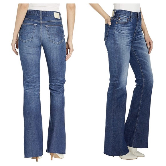 Ag Adriano Goldschmied Denim - Adriano Goldschmied Quinne High-Rise Flare Jeans